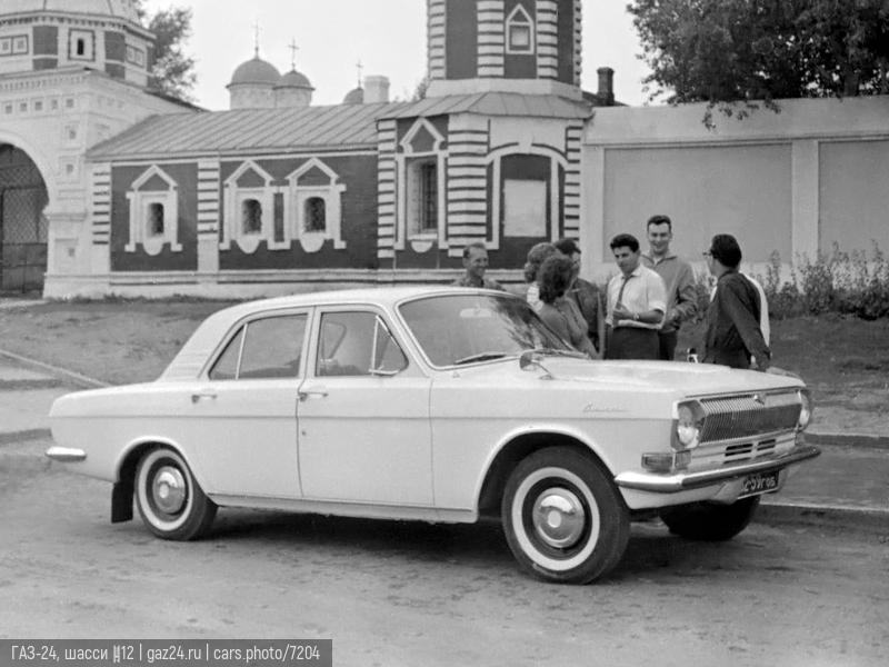 ГАЗ-24, шасси №12