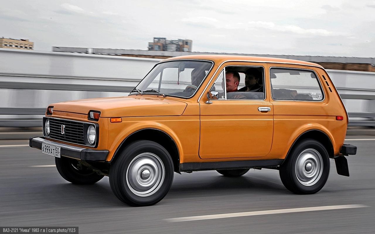 """ВАЗ-2121 """"Нива"""" 1983 г.в"""