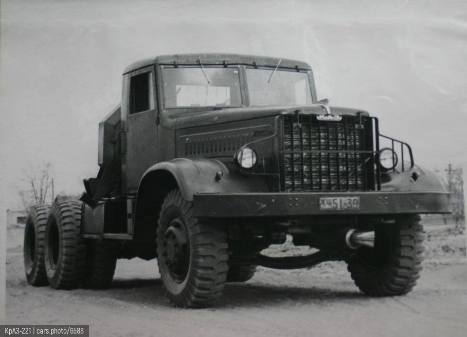 КрАЗ-221