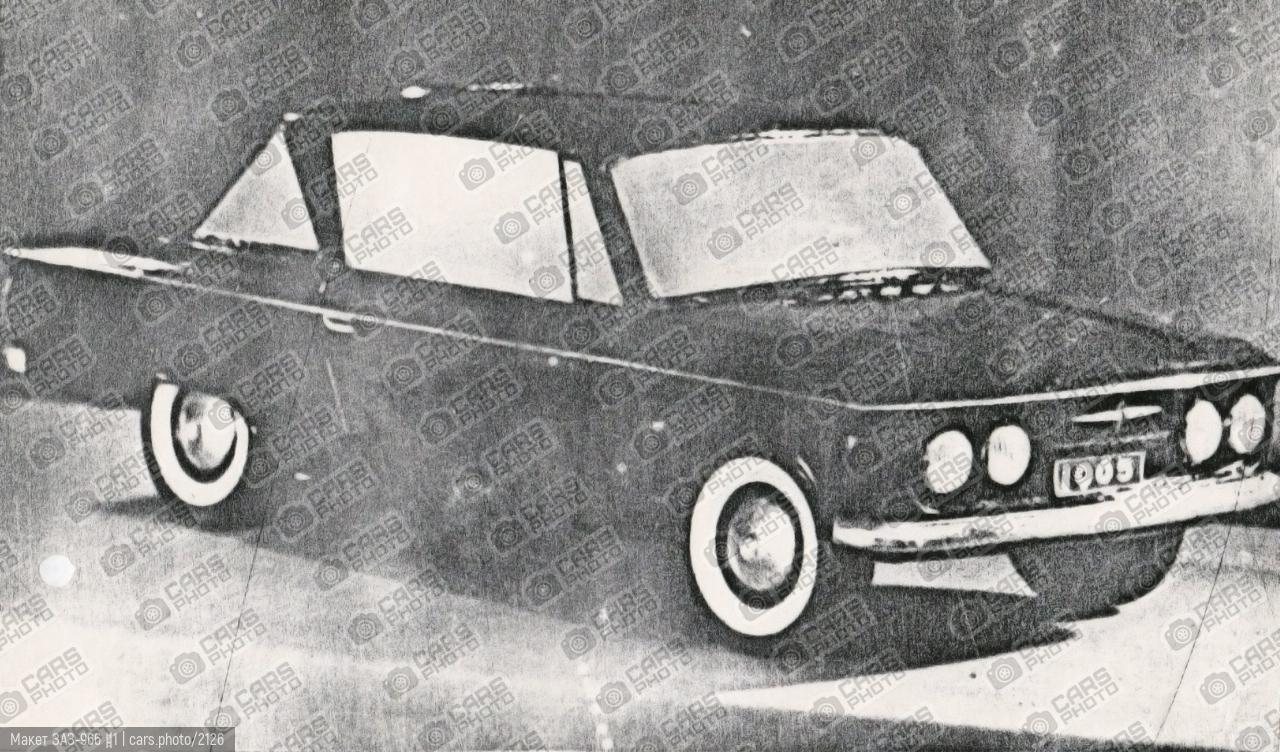 Макет ЗАЗ-966 №1