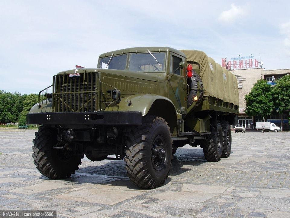 КрАЗ-214