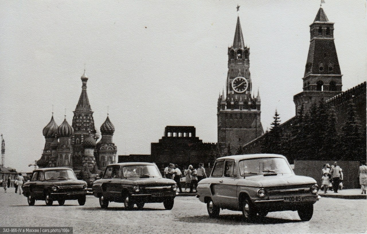 ЗАЗ-966-IV в Москве