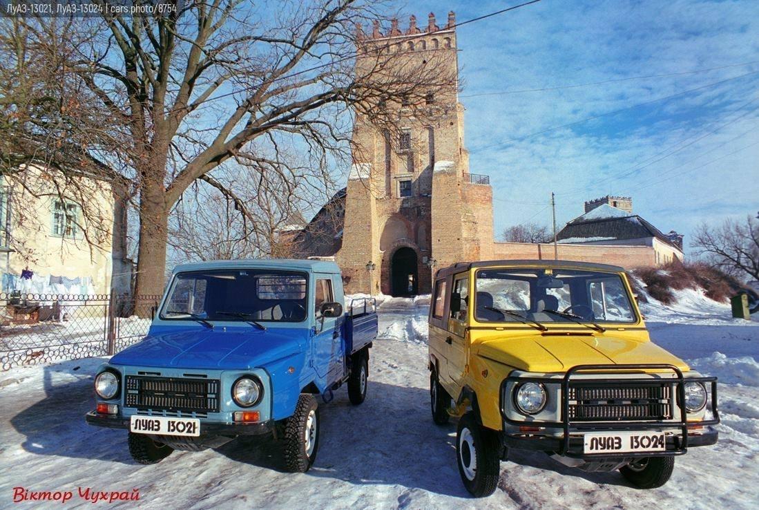 ЛуАЗ-13021, ЛуАЗ-13024