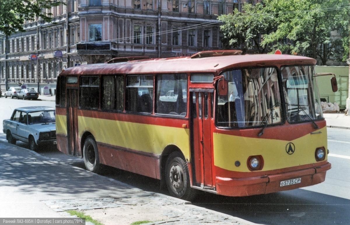 Ранний ЛАЗ-695Н